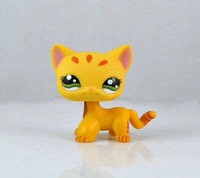 Pet Short Hair Cat Collection Child Girl Boy Figure Littlest Toy Loose LPS829
