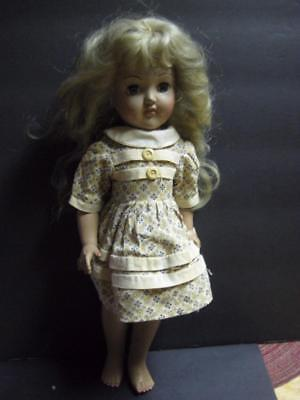 Vintage Ideal P 90 Toni Doll 14 inch