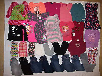 Huge Lot Of Girl Clothes 4/4T/5/5T
