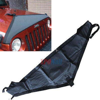 Professional Hood Cover Front End Bra Protector Kit for 2007-2015 Jeep Wrangler