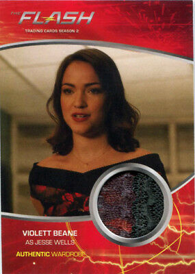 Flash Season 2 Costume Wardrobe Card M06 Violett Beane as Jesse Wells