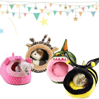 Small Pet Nest Hamster Bed Hammock Rat Hedgehog Squirrel House Chinchilla Cage