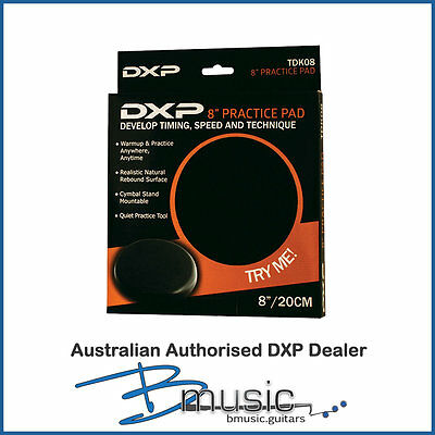 "Brand NEW DXP 8"" Drum Practice Pad - Develop timing, speed and technique"