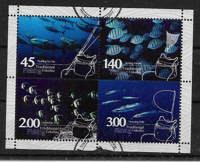 Tokelau Islands Sgms486 2015 Fishing M/s Used