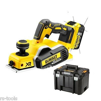 DeWALT DCP580NT 18V LiIon Akku Hobel 82mm bürstenlos brushless optional DCP580P2