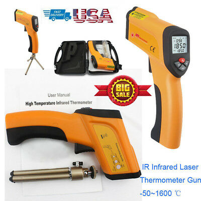 Non-contact Digital Infrared Thermometer IR Temperature Gun Pyrometer1600℃ 2912℉
