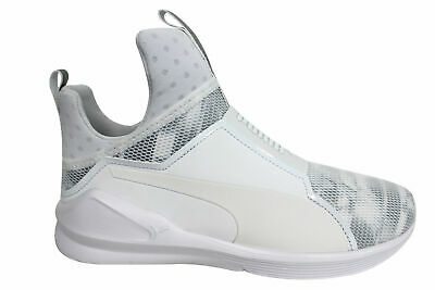 Puma Fierce Swan Womens Slip On Mesh Dance Fitness Gym Trainers 189885 02  D127 e586de4f9