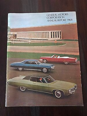 General Motors Corporation Annual Report 1968  Free & Fast Shipping