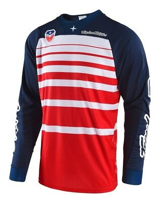 Troy Lee Designs 2018 SE Jersey Streamline Red/Navy All Sizes
