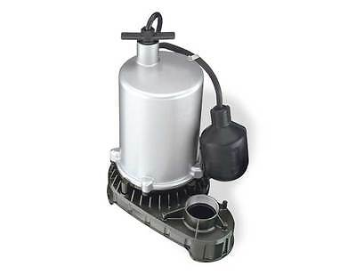 Flotec 1/2 HP Zinc Body Submersible H/O Sump Pump,Tethered Switch #FPZT7300