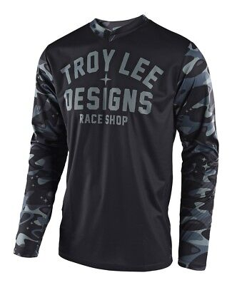 Troy Lee Designs 2018 GP Jersey Cosmic Camo Gray All Sizes