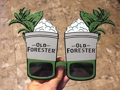 Old Forester Whiskey Novelty Sunglasses Derby Party Attire Uncommon