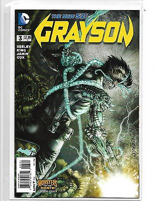 Grayson #3 Monsters Of The Month Variant Dc Comics New 52 Nightwing Batman