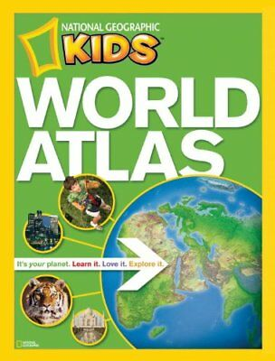 National Geographic Kids World Atlas by National Geographic Paperback Book The