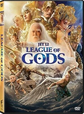 League Of Gods [New DVD] Ac-3/Dolby Digital, Dolby, Dubbed, Subtitled, Widescr