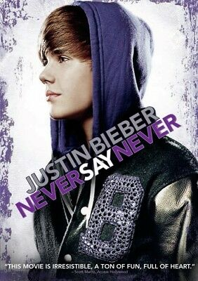 Justin Bieber: Never Say Never [New DVD] Ac-3/Dolby Digital, Dolby, Dubbed, Su