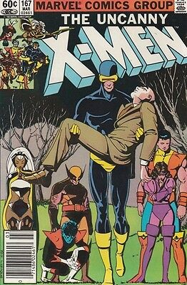 X-Men 167 Strict 1983 NM Super-High-Grade The Uncanny App Kitty Pryde Amazing