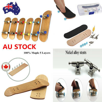 Finger Skate Board Truck Maple Wood Mini Skateboard For Boy Kids Fidget Toys