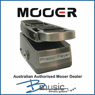 Brand NEW Mooer Phaser Player Pedal - Authorised Australian Mooer Dealer
