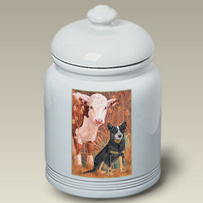 Ceramic Treat Cookie Jar - Australian Cattle Dog (PS) 52072