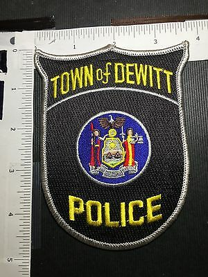 Dewitt  New York  Police Shoulder Patch
