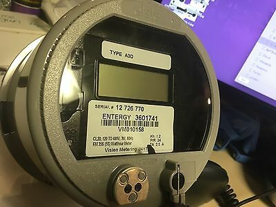 Elster Wattmeter Digital Vision Metering Energy type A3d NEW never installed