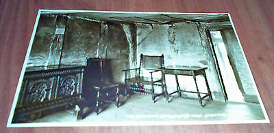 "VINTAGE POSTCARD ""#68 Birthroom, Shakespeare's House"" Great Antique Card"
