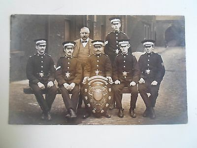 Rare Vintage RPPC St John's Ambulance Brigade+Leeds Coat of Arms on Shield §D109