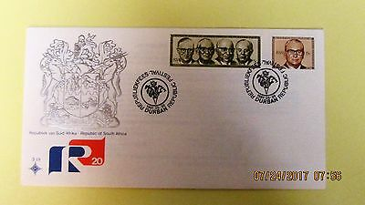 South Africa FDC 20 Year Anniversary of the Republic Unaddressed.