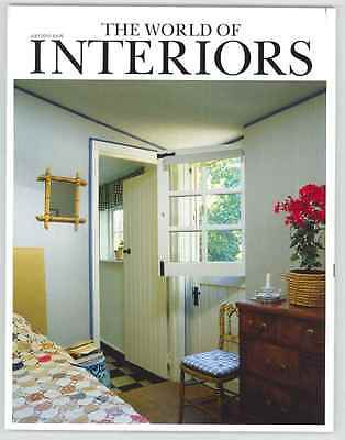 World Of Interiors Magazine July 2012 Limited Edition Collectors Cover New
