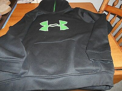 Under Armour Black Pullover Hoodie Size Youth Large