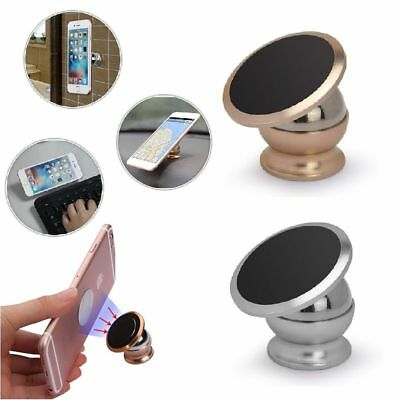 360 Degree Magnetic Car Dash Mount Ball Dock Holder For Cell Phone Universal