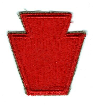 Army Patch:  28th Infantry Division - cut edge, WWII era