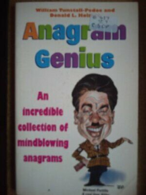 Anagram Genius: An Incredible Collection of Wei... by Donald L. Holmes Paperback
