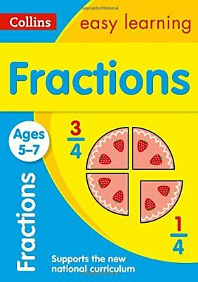 Fractions Ages 5-7 (Collins Easy Learning KS1) by Collins Easy Learning Book The