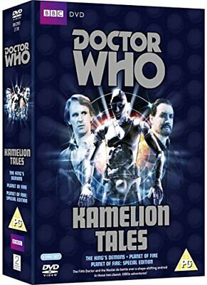 Doctor Who - Kamelion Tales Box Set: The King's Demons / Planet o... - DVD  6QVG