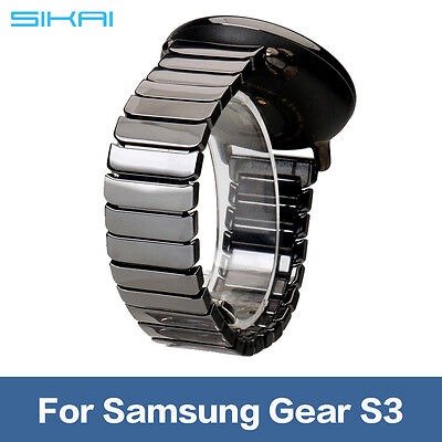 22mm Ceramic Watch Strap Band Wristband For Samsung Gear S3 Clic Frontier Us