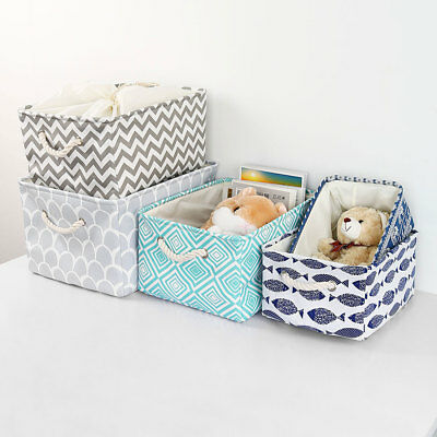 Foldable Storage Baskets Bin Closet Toys Box Container Organizer