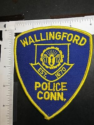 Wallingford Connecticut Police  Shoulder Patch