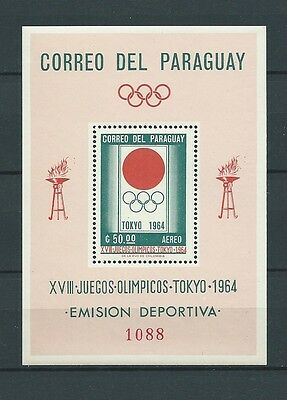 Latin America - Paraguay - 1964 Mi 1272 / Bloc 50 -  Timbres Neufs** Mnh Luxe