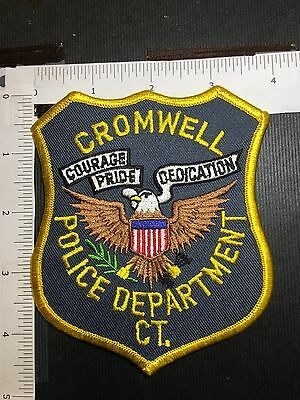 Cromwell  Connecticut Police  Shoulder Patch