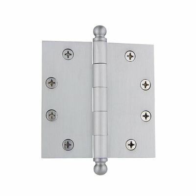 "Grandeur 4.5"" Ball Tip Heavy Duty Hinge with Square Corners"