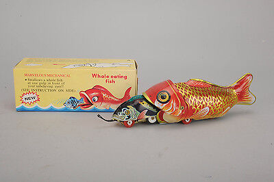 MS 229 made in China  Mechanical Whale eating mit OVP