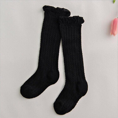 Baby Toddlers Girls Knee High Socks Tights Leg Warmer Stockings