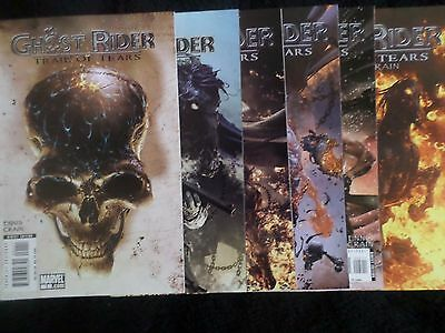 Ghost Rider: Trail Of Tears #1-6 (2007) Complete Full Set VF/NM Garth Ennis-Nice