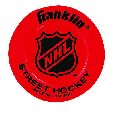 Franklin Sports NHL Low Density Lightweight Street Hockey Puck - Colors May Vary