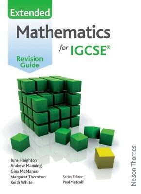 Mathematics for (Cambridge) IGCSE Extended Revision Guide (Paperb...