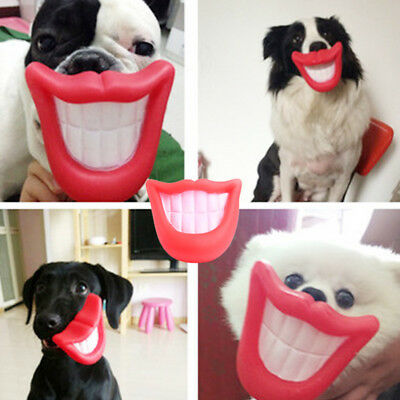 Fun Pet Dog Giggle Treat Training Activity Puppy Chew Sound Squeaker Squeaky Toy
