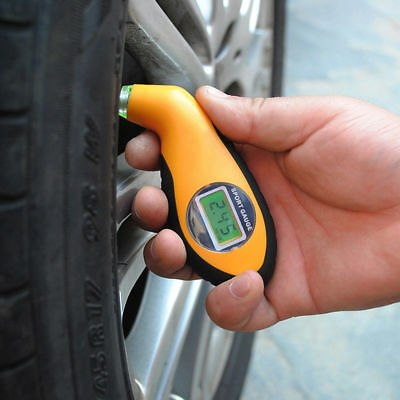 Digital LCD Car Tyre Tire Manometer Barometers Electronic Tire Gauge Tester
