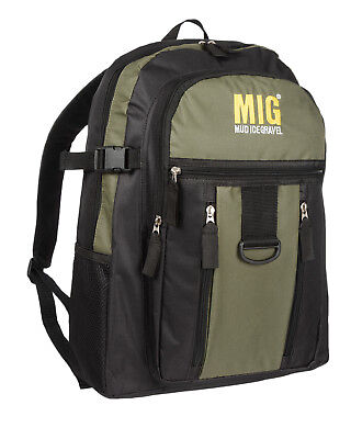 Mens & Boys Multi Pocket Backpack & Rucksack Bag SPORT SCHOOL TRAVEL - KHAKI 218